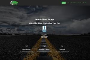 Gear Grabbers Garage Website